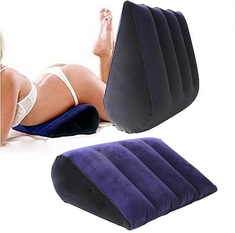 Cojín sexual, cojín lumbar hinchable triangular sofá ...