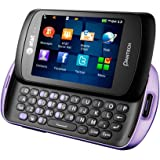 Pantech Swift P6020 Unlocked GSM Slider Cell Phone - Purple