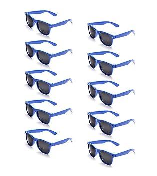f865531009dae1 ONNEA 10 Paare Party Favors Sonnenbrille Set Sommer Kinder Damen (Blau 10 -Pack)