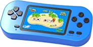 Beijue Retro Handheld Games for Kids Built in 218 Classic Old Style Electronic Game 2.5'' Screen 3.5MM Earphone Jack USB Rec