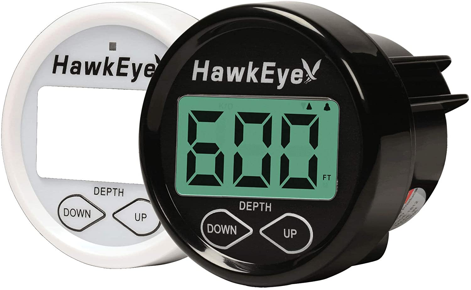 HawkEye DT2B-TM DepthTrax 2B,Black/White