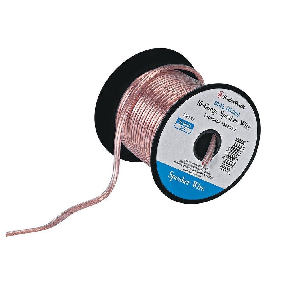 RadioShack 16-Gauge Speaker Wire