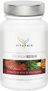 VITAFAIR Premium Reishi | Ganoderma Lucidum | 500 mg de extracto de hongo vital puro de