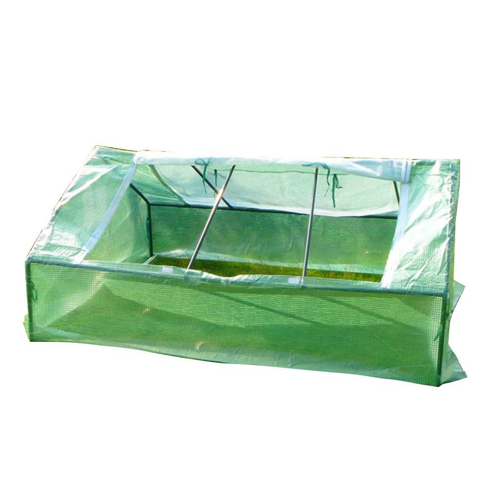 LIANGLIANG Serra A Casetta Impianto di Giardinaggio Antipioggia Conservazione del Calore Extra Large Ampia Plastica PE, Filato Ventilazione di Design per Finestre
