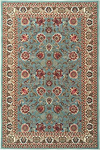 Ottomanson Ottohome Persian Style Oriental Rugs with Non-SkidRubber Backing Area Rug, 98