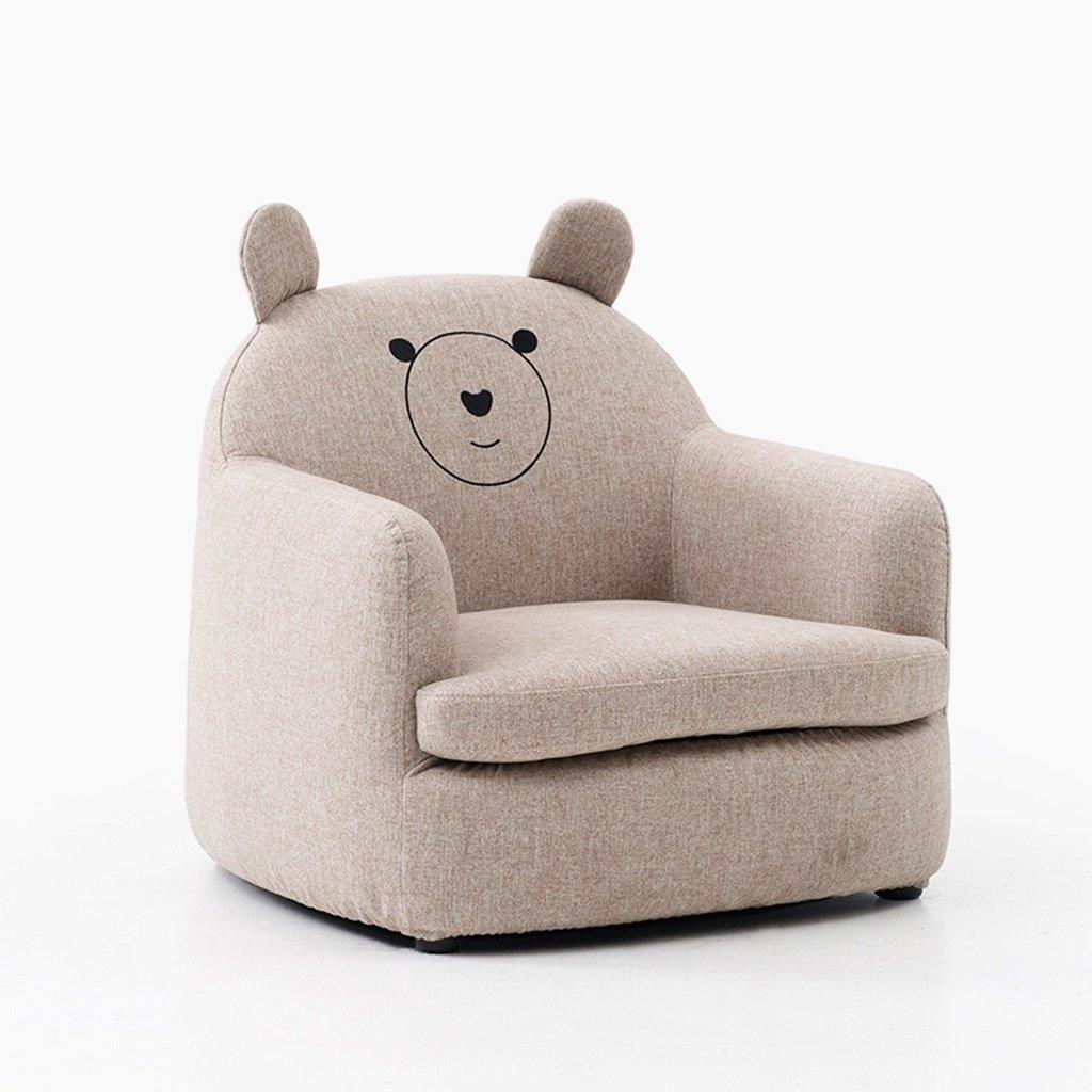 FLYSXP Divano per Bambini Ragazza Principessa Coniglio Mini seggiolone Divano Pigro Divano Simpatico Cartone Animato Sgabello (colore   Bear)
