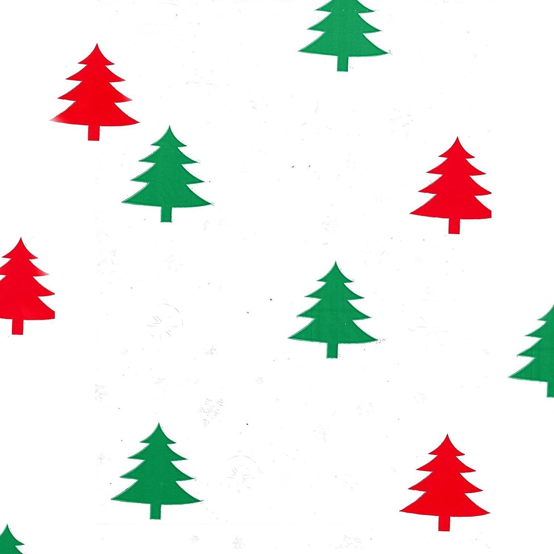 Amazon.com: Plastic Jumbo Christmas Cello Basket Bags, Christmas ...
