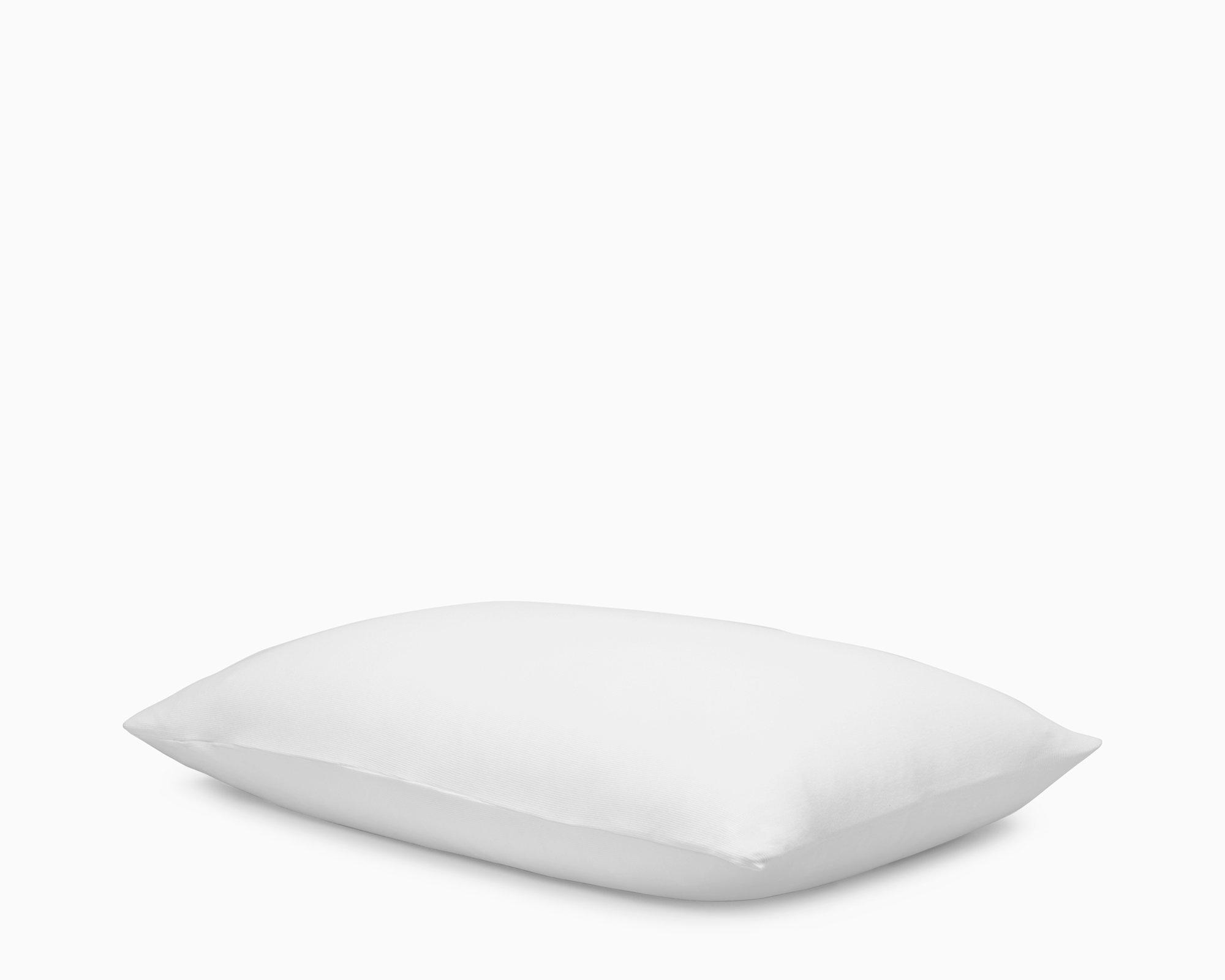 Calvin Klein Home Modern Cotton Julian Pillowcase, King Sham Pair, White, 2 Piece