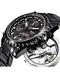 Men Automatic Mechanical Watch Sports Luminous Luxury Brand Business Fashion Casual Waterproof Stainless Steel...