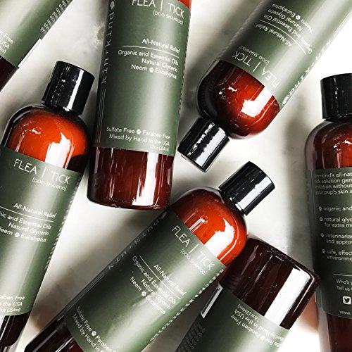kin+kind Flea|Tick Organic Dog Shampoo, 12oz