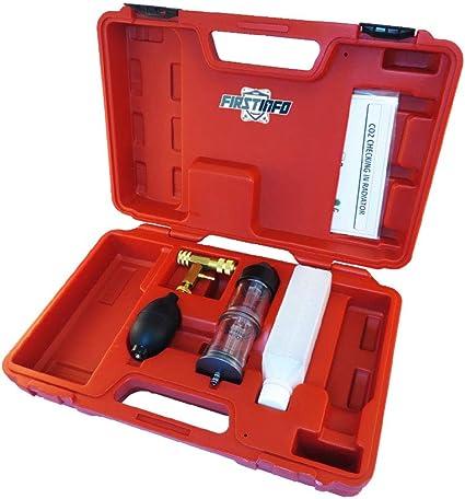 Fit Tools kit tester sistema di raffreddamento rilevatore di perdite di gas di combustione CO2/controllo in radiatore