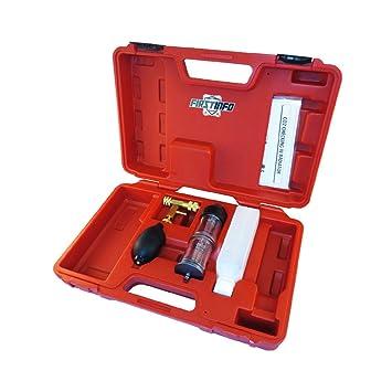 Ajuste Herramientas detector de fugas de gases de combustión comprobador de sistema de refrigeración kit CO2 comprobar en Radiador: Amazon.es: Bricolaje y ...