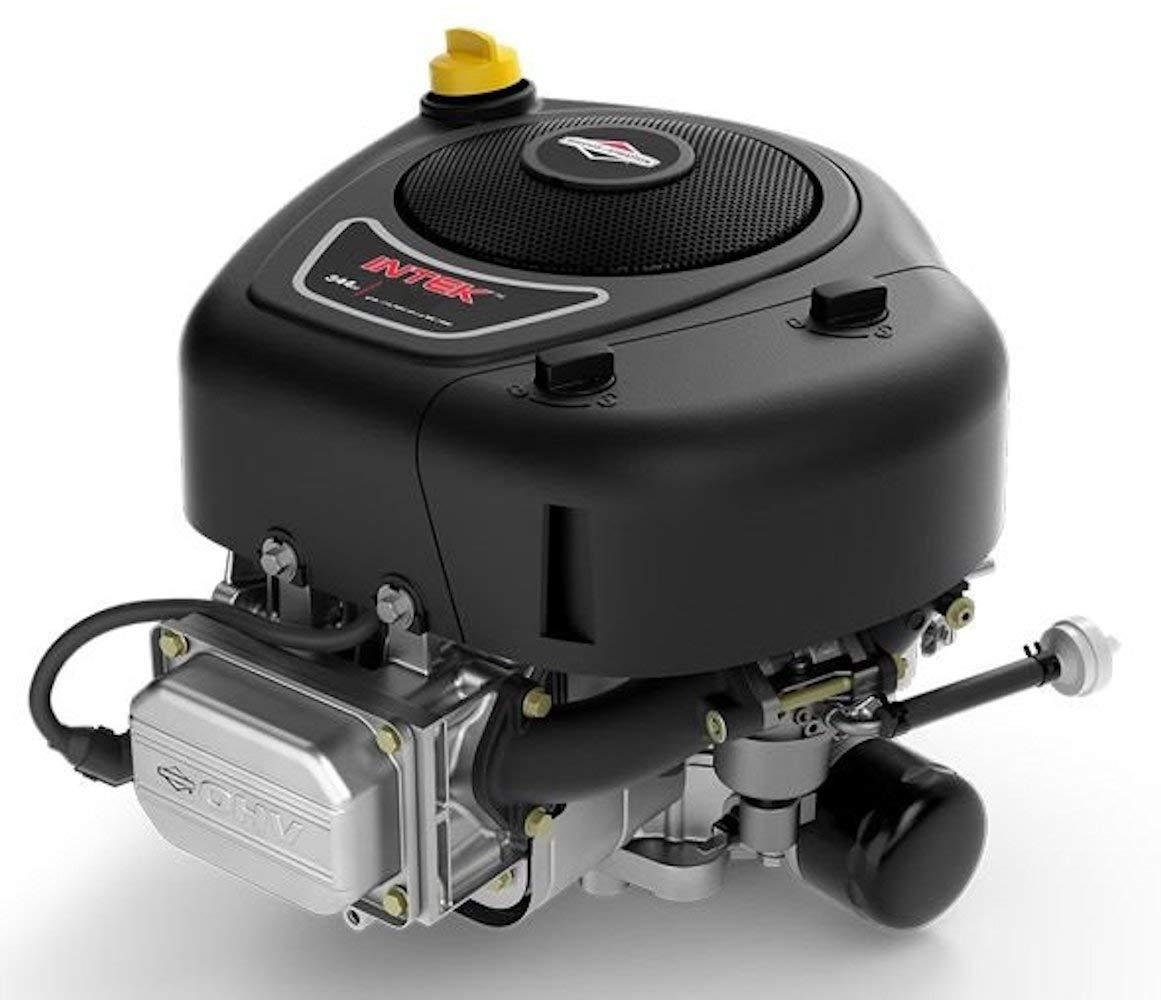 Briggs and Stratton Vertical 17.5 HP 500cc INTEK Engine 9amp 1'' x 3-5/32'' #31R977-0054 by Briggs & Stratton