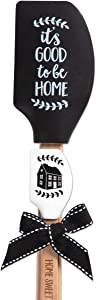 Brownlow Gifts Kitchen Buddies Silicone Spatula Set, 12.5 Inches, It's Good to be Home