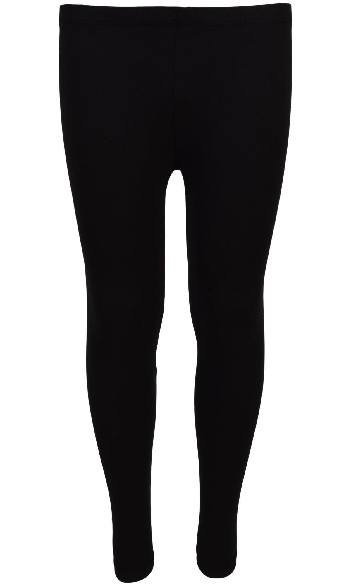 dELiA*s 'dELiAs 4 Pack Girl's Basic Yummy Active Leggings, Navy Flower/Diamond, Size 7/8' by dELiA*s (Image #2)