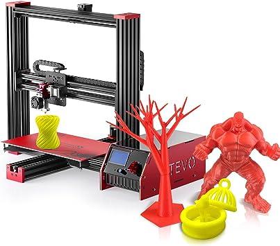 Tevo 370 * 250 * 300 mm I3 Impresora 3D Viuda Negra DIY Equipo ...