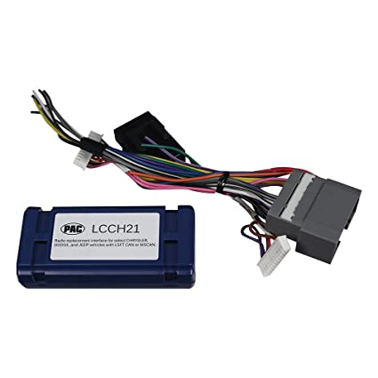 Amazon.com: PAC LCCH21 Radio Replacet Adapter For Chrysler ...