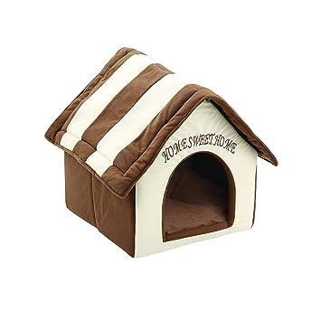 STRIR 2 en 1 Cómodo Casa para Mascotas y Sofá, Interiores y Exteriores Portátil Plegable de Cama para Perro/Cama para Gato: Amazon.es: Productos para ...