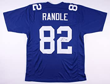 Image Unavailable. Image not available for. Color  REUBEN RANDLE SIGNED NEW  YORK GIANTS NY JERSEY w JSA WITNESSED COA ... 332fddb85