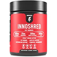 Inno Shred - Day Time Fat Burner | 100mg Capsimax, Grains of Paradise, Organic Caffeine, Green Tea Extract, Appetite…