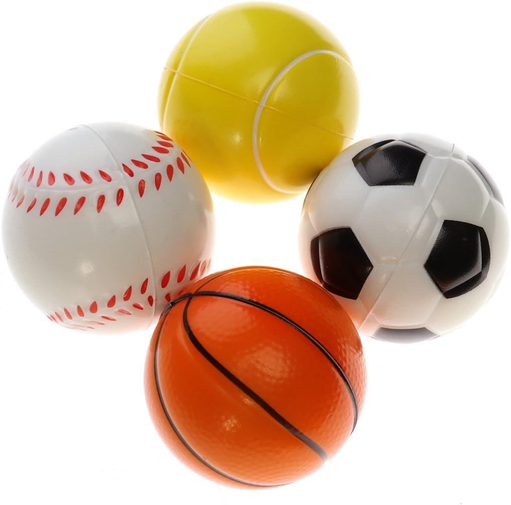 TOYMYTOY Bolas de deportes de espuma suave pelota de juego de ...