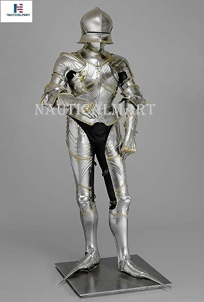 Amazon.com: Nauticalart, traje gótico de caballero de ...