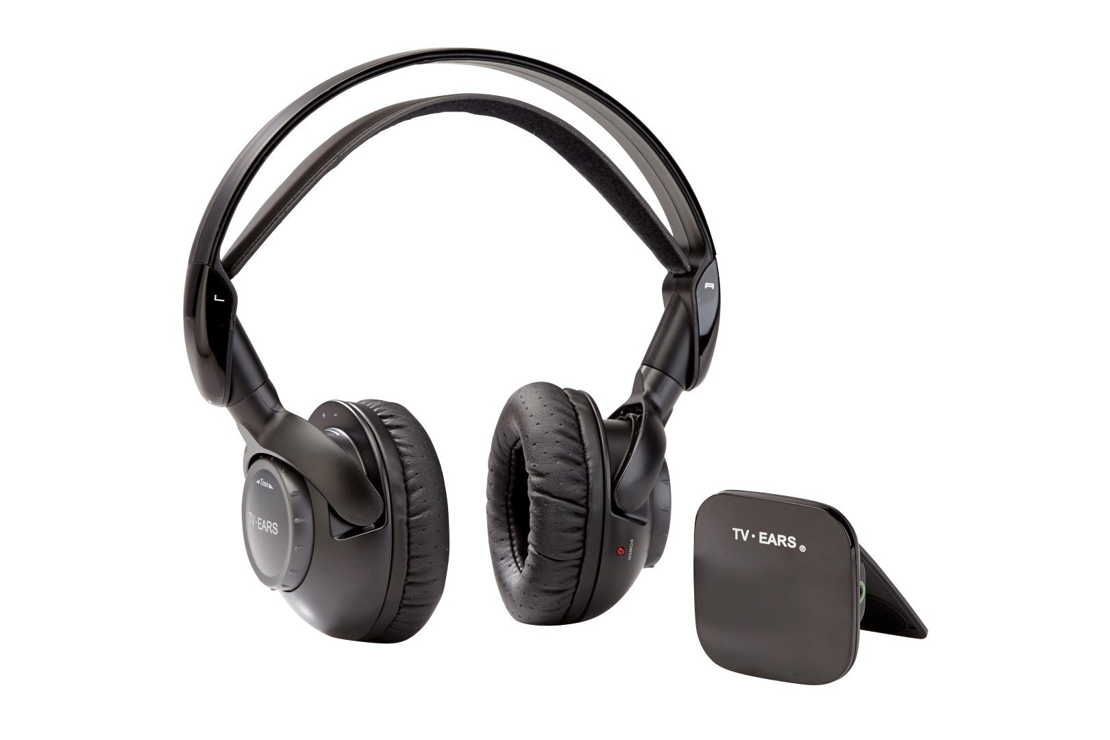 TV Ears HD Headphones System - Wireless Voice Clarifying Doctor Recommended Headphones for TV Black (12241) by TV Ears Inc