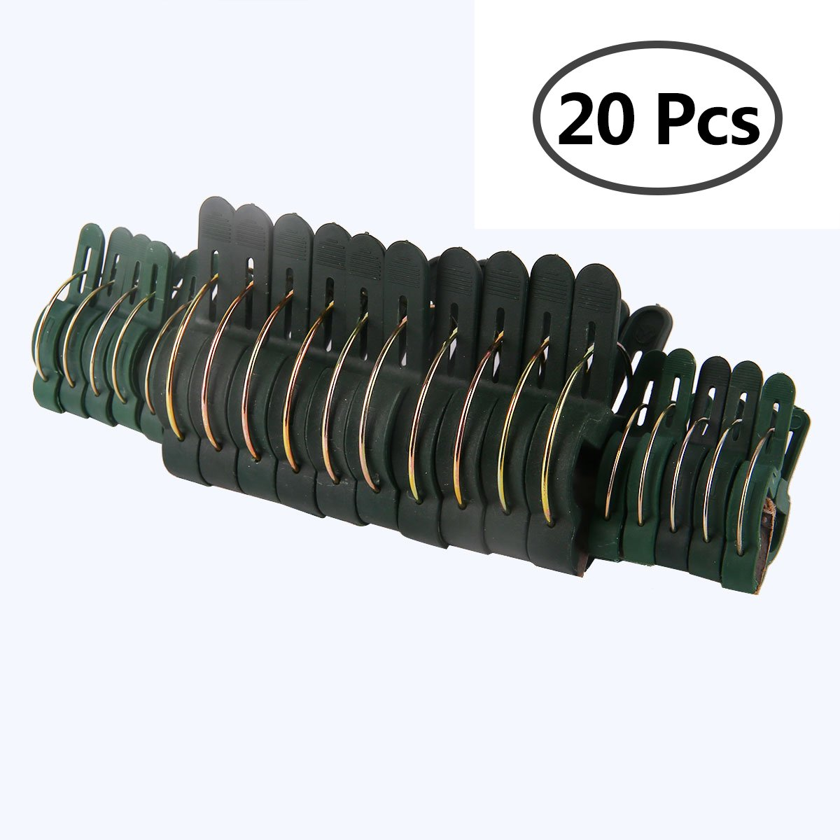 Freebily Garden Plant Clips, Support Plant Clip Flower Lever Loop Gripper Clips Tools for Vine Garden Vegetables Tomatoes 20PCS Multi