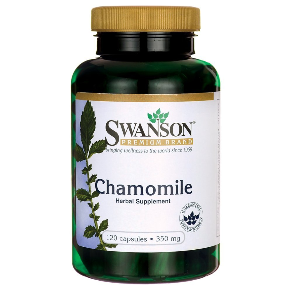 Swanson Chamomile 350 Milligrams 120 Capsules natural sleep supplements Natural sleep supplements – top 3 sleep supplements in the market 61 eOrJR5zL