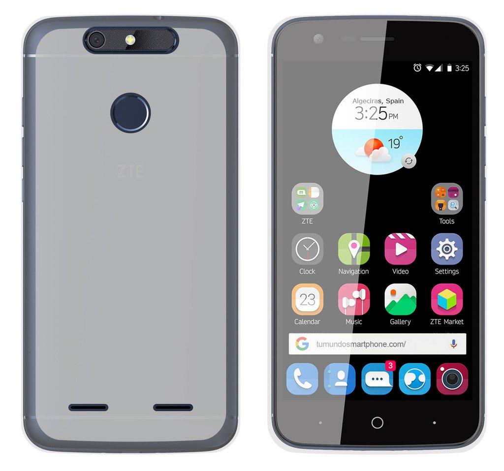 Tumundosmartphone Funda Gel TPU para ZTE Blade V8 Lite Color Transparente