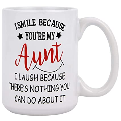 Coffee Mug Aunt Gifts From Niece Best Ever Auntie Gift Ideas Nephew Birthday Mugs