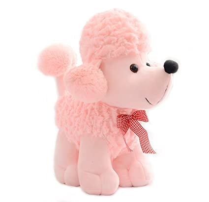 Amazon Com Smilesky Plush Poodle Puppy Dog Stuffed Animal Toys Kids