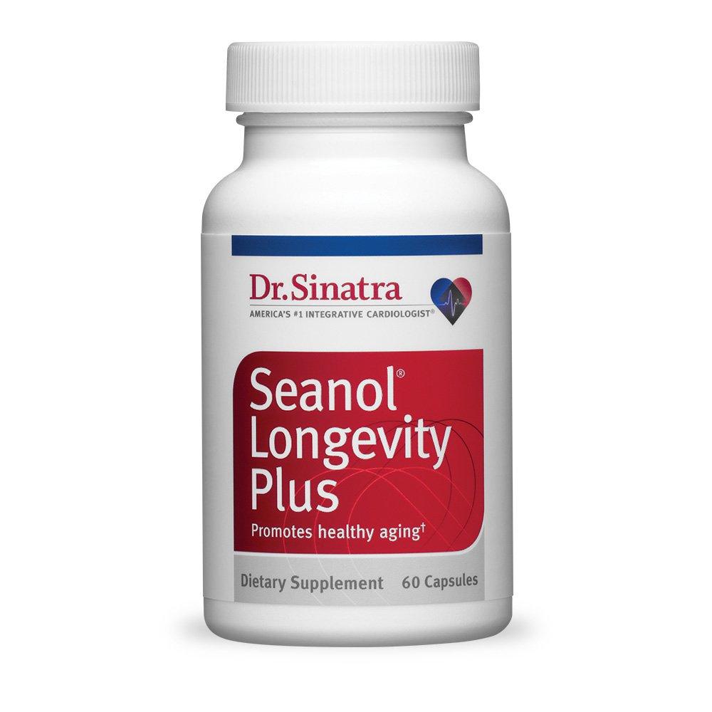 Dr. Sinatra's Seanol Longevity Plus Supplement, 60 capsules (30-day supply)