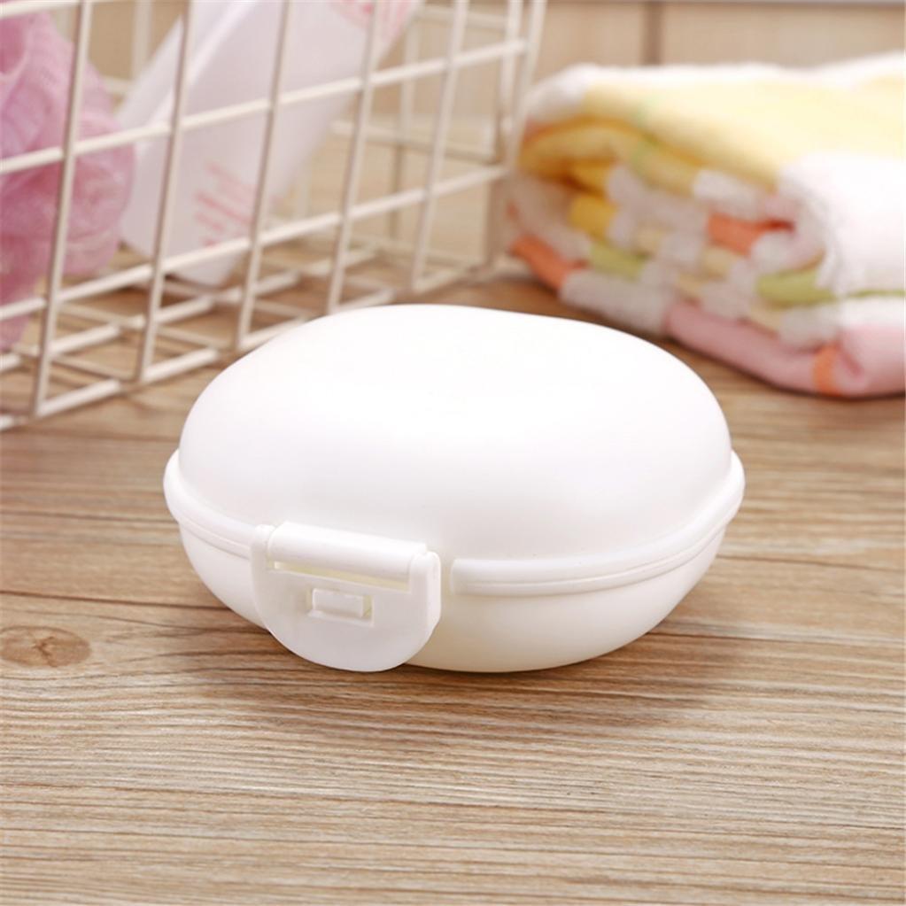 Portable Savon Porte-Bo/îte Conteneur Soap Box Bo/îte /à Savon Voyage Rameng Rose