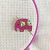 Stitching Assistant Needle Minder Elephant Cute