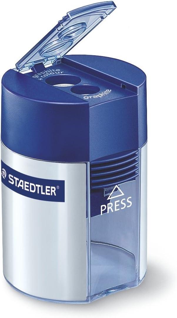 ステッドラー 鉛筆削り 2穴 Φ8.2mm Φ10.2mm 512