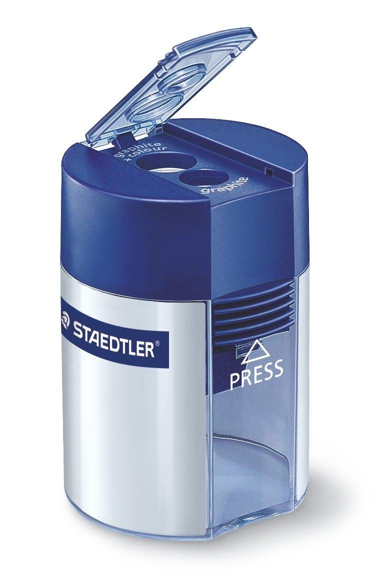 STAEDTLER, temperamatite a due fori con serbatoio 512 001 MAG_7G-TL31-0F2K