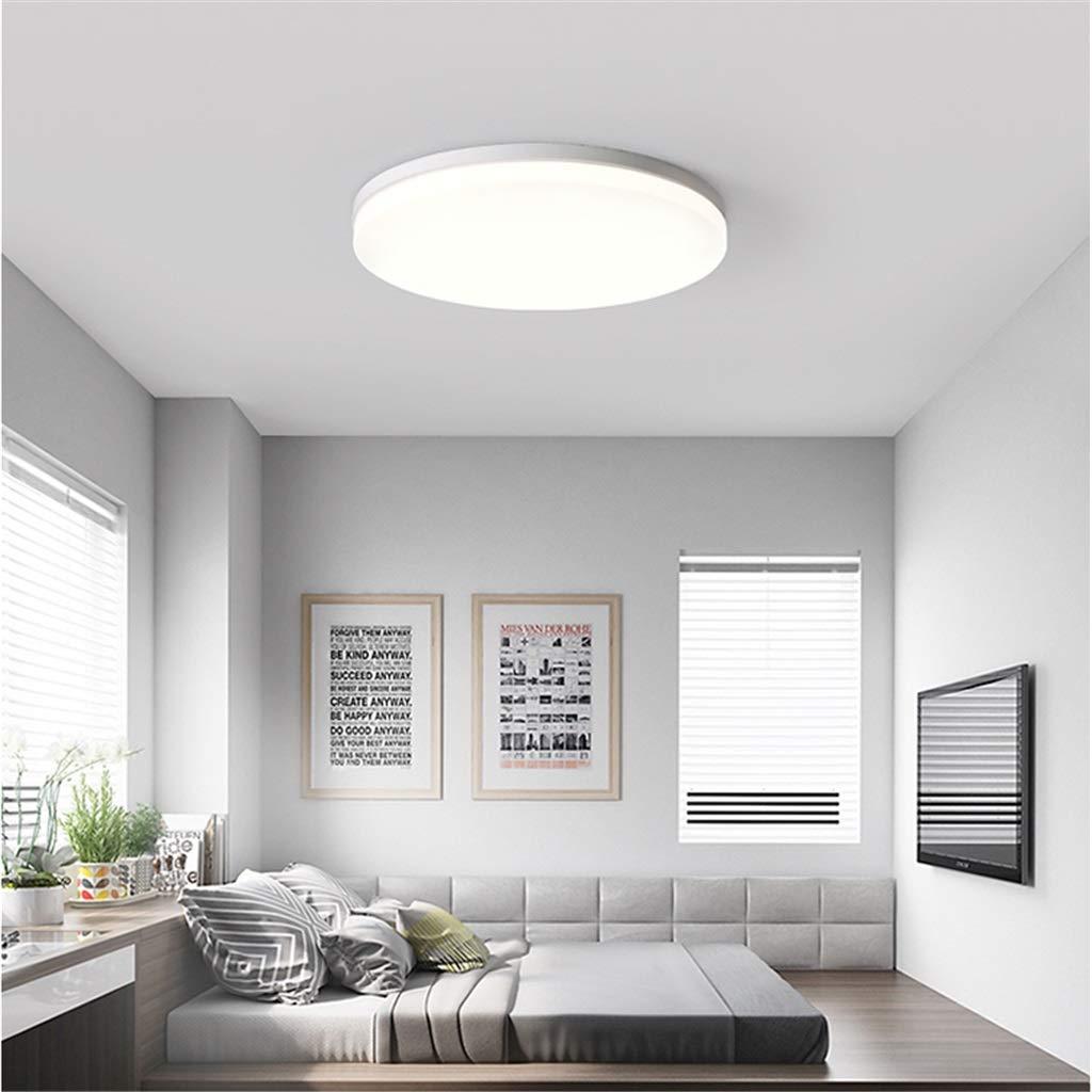 Led Techo Lámpara Jinwell Diseño Plafón De Redonda Blanco Luz O8n0wXPk