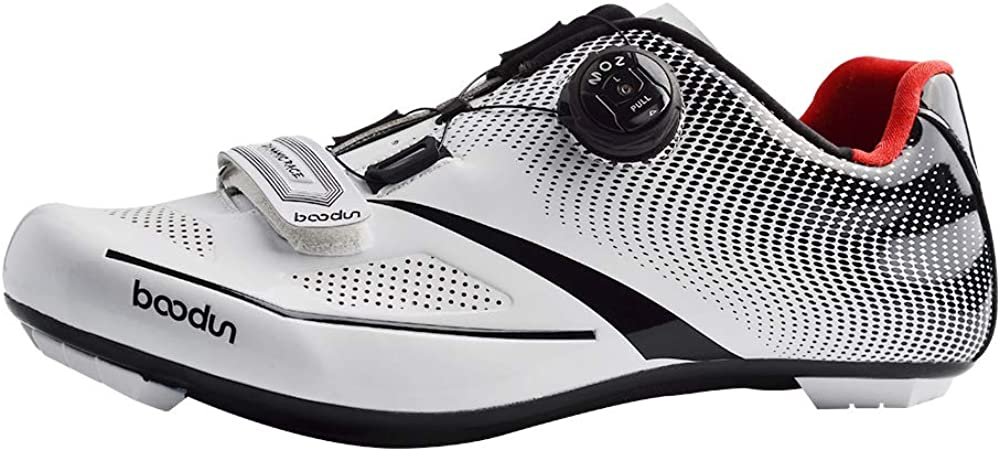 SIDEBIKE Adults MTB or Road Synthetic Cycling Shoe Mountain Bike Road Cycling Shoes Professional Racing