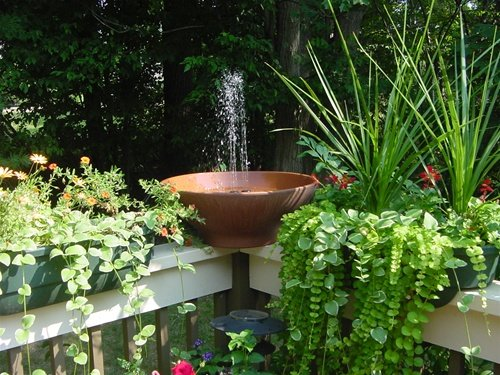 Amazon.com : Solarrific G3017 Solar Water Fountain Kit : Free Standing Garden  Fountains : Garden U0026 Outdoor