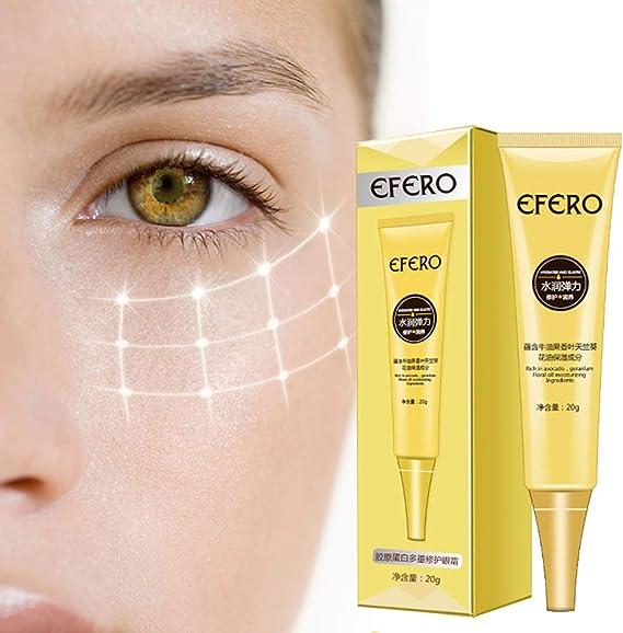 WSNDG ColáGeno En Crema Para Los Ojos, EFERO Esencia Para Los ...