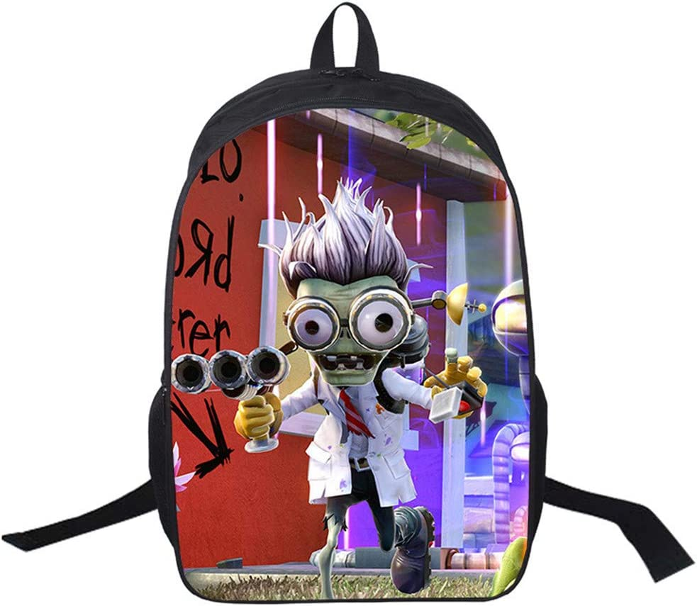 Gumstyle Plants vs. Zombies Backpack Shouder School Bag for Children 17