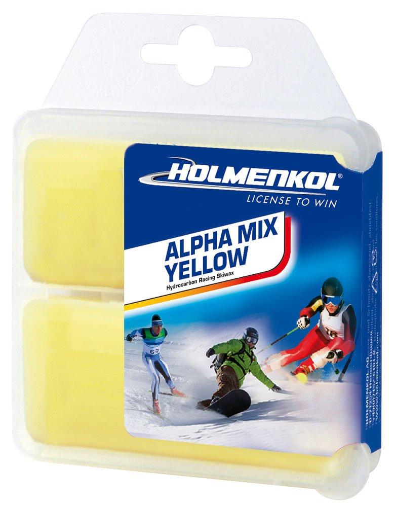 snowboard Holmenkol Alphamix amarillo 2x35 gramos esqu/í de cera caliente Esqu/í alpino esqu/í de fondo