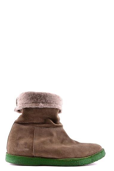Buttero Damen Mcbi057003o Braun Wildleder Sneakers: Amazon
