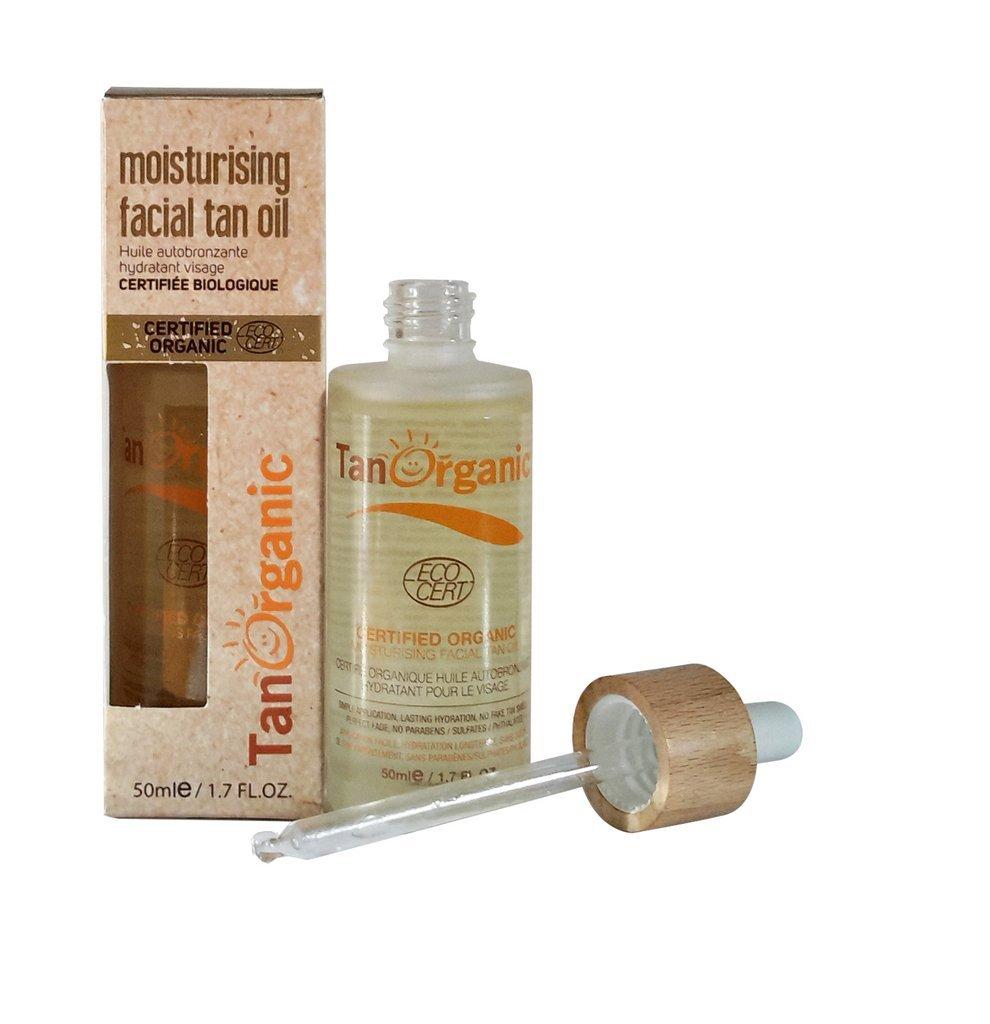 Tan Organic Oil Auto Bronzante visage beauty results