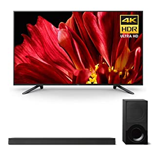"""Sony XBR-65Z9F 65"""" Master Series BRAVIA 4K HDR UHD TV and HT-X9000F 2.1-Channel Dolby Atmos Soundbar with Subwoofer"""