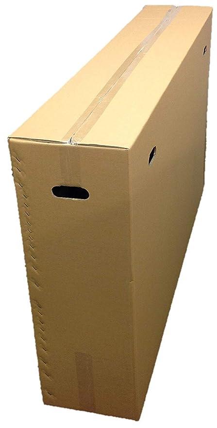 Grande boîte en carton pour vélo - Emballage dexpédition - Boîte de rangement et