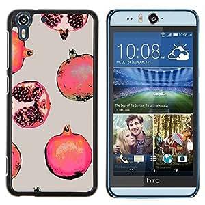 Stuss Case / Funda Carcasa protectora - Fruit Rouge Peinture - HTC Desire Eye M910x