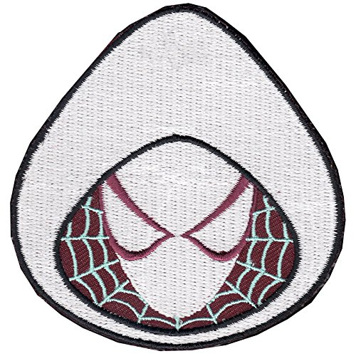 Official Marvel Comics Amazing Spiderman Spider Gwen Iron on Applique ()