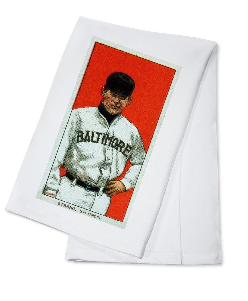 Baltimore Eastern League – Sam Strang – 野球カード Cotton Towel LANT-23314-TL Cotton Towel  B0184BGSHU